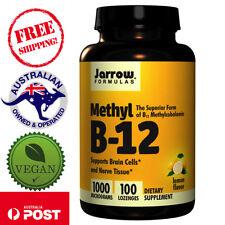 Jarrow Formulas, Vegan Methyl B-12 Lemon Flavor, 1000 mcg, 100 Lozenges