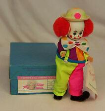 "Madame Alexander Kins BO BO CLOWN #310 Americana Bobo Wendy 8"" Doll MINT in BOX"