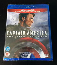 *NEW* Marvel Captain America: The First Avenger (BLU RAY 3D + 2D)