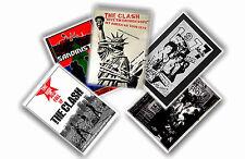 THE CLASH - JUEGO DE 5 A4 PÓSTERS # 3