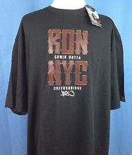 NEW NWT Ron Artest Men's Shirt 5XL BLACK RON COMIN OUTTA NYC QUEENSBRIDGE K1X