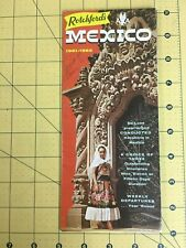 Vintage Brochure Rotchford's Mexico 1961-1962 Mexican Vacation Tours