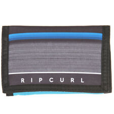 SALE.RIP CURL MENS WALLET & CHAIN.RAPTURE TRIFOLD BLUE MONEY CARD NOTE PURSE 8W