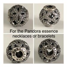 PANDORA ESSENCE APPRECIATION CHARM REF 796054CZ DISCONTINUED