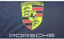 Porsche High Performance Stuttgart Flag Banner 3 X 5 Feet Man Cave Decor