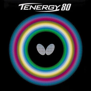 Butterfly Tenergy 80 table tennis rubber, 2.1mm, Red