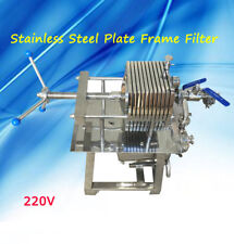 200 Model Stainless Steel Press Machine Laboratory Filtration Equipment 110V