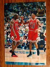 New listing Michael Jordan Scottie Pippen Bulls Basketball 4x6 Photo Picture Card