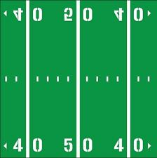 Football Field Yard Lines Room Decal Removable Vinyl