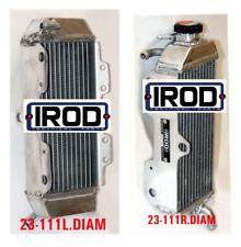 Pair IROD Radiator Yamaha YZF WRF 426 00 01 02 Aluminium MX Enduro Right Left