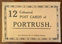 W A Green Belfast Portrush Vintage Postcards 12 Pack Co Antrim Ireland 1920's