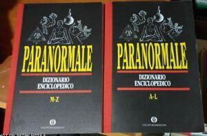 PARANORMALE DIZIONARIO ENCICLOPEDICO 1^'92 OSCAR MONDADORI ufologia agiografia