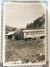 TRENO Auto & Old CABINA foto fotografia Antico Nero Bianco