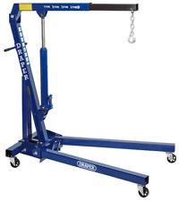 Draper 1 Ton Tonne Hydraulic Folding Engine Crane Stand Hoist Lift Jack 02610