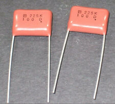 LOT OF TWO LP272S100H9P3 MALLORY CAPACITOR 2,700UF 100V