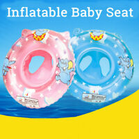 AU Baby Kids Inflatable Float Ring Seat Safety Raft Chair Pool Swimming  ☆a☆