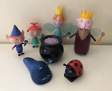 Ben And Holly Figures King Queen Thistle, Ben Strawberry, Gaston,Slug & Cauldon