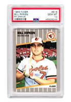 Bill Ripken (Orioles) 1989 Fleer #616 FF ERROR Card -PSA 10 GEM MINT (New Label)