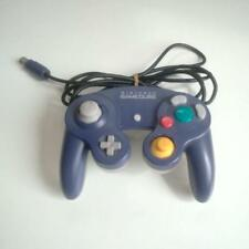 Nintendo GameCube Wii Controller Clear Violet purple Pad  from Japan F/S