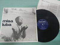 """Misa Luba Criolla los Ecke Spain Edition 1974 - LP vinyl 12 """" VG/VG"""