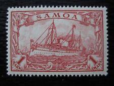 SAMOA GERMAN COLONY Mi. #16 mint Kaiser Yacht stamp!
