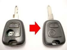 Repair service for Peugeot 206 remote key fob + new case