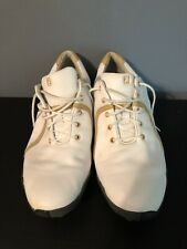 Footjoy Lopro Collection Golf Shoes All White And Beige Womens Size 9.5