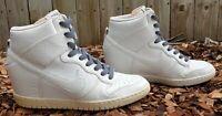 NIKE Women Shoes Dunk Sky Hi Essential Wedge Heel Size US10 UK7.5 Authentic