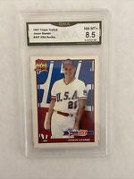 1991 Topps Traded Jason Giambi RC Graded 8.5 NM-MT+