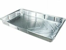 30 x NEW Foil baking trays large containers Aluminium Disposable dishes 12 x 8""