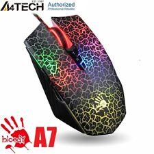 4TECH Bloody A7 / A70 SPIELMAUS, OPTICAL,  4000DPI, USB,  RGB 23G 8 TASTEN, NEU