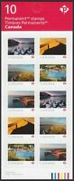 "FAR AND WIDE = BOOKLET OF 10 x ""P"" STAMPS = MNH Canada 2020"