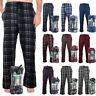Rugged Frontier Men's Comfy Fleece Plaid Fleece Lounge Sleep Bottom Pajama Pants