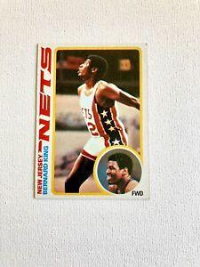 1978 Topps Bernard King rookie HOF New Jersey Nets #75 very nice