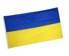 Drapeaux l'Ukraine 90X150 - Drapeau Supporter Ukrainien Festival Body Flag