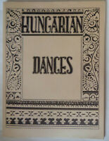 Hungarian Dances, By Andor Czompo and Ann I. Czompo.