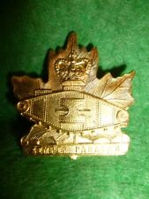 The Windsor Regiment (Royal Canadian Armoured Corps) Collar Badge - Canada