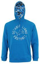 Zubaz NFL Men's Detroit Lions Camo Lined Pullover Hoodie