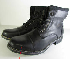 Steve Madden Leather Solid Boots for Men