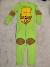 TMNT One Piece PAJAMA Adult MED Fleece Costume Teenage Mutant Ninja Turtles Suit