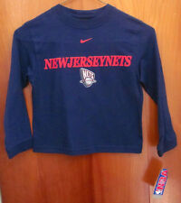 New Jersey Nets longsleeves youth small New basketball 1997 logo Nwt kids size 5