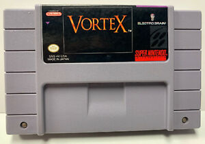 Vortex for Super Nintendo SNES Authentic NTSC Cartridge Only by Electro Brain