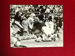 "Dick Butkus, ""Autographed"" (Mounted Memories) 8x10 Photo (Scarce / Vintage)"