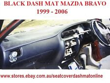 DASH MAT, DASHMAT, DASHBOARD COVER FIT MAZDA BRAVO 1999 - 2006 BLACK
