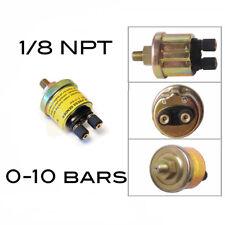 Sonde de pression d' huile universelle 1/8 NPT 0-10bars auto moto etc - NEUF