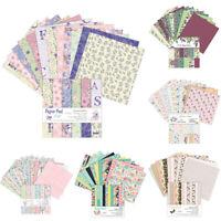 12 Sheets Daisy Paper Pad Cardstock Origami Art Folding Scrapbooking DIY Craft