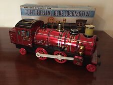 Treno Latta Tin Toy Continental Blue Locomotive TM Trade Mark Masudaya 4018 Jp