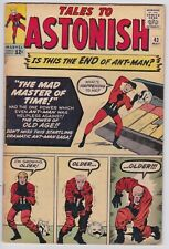 Tales to Astonish #43 - VG 4.0 Mad Master of Time Ant-Man