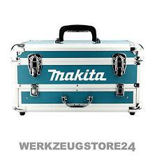 MAKITA Alu Koffer mit Schublade Leer Transportkoffer für Akkuschrauber Werkzeug