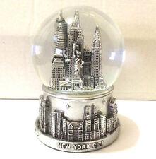 New York City Snow Globe 3.5 Inch(65mm)Skylines & Statue of liberty WG#199